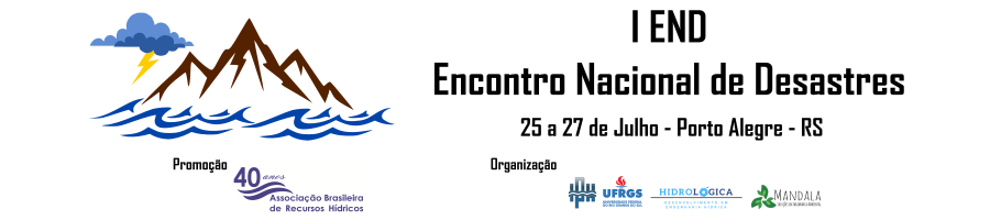 I END - Encontro Nacional de Desastres da ABRH