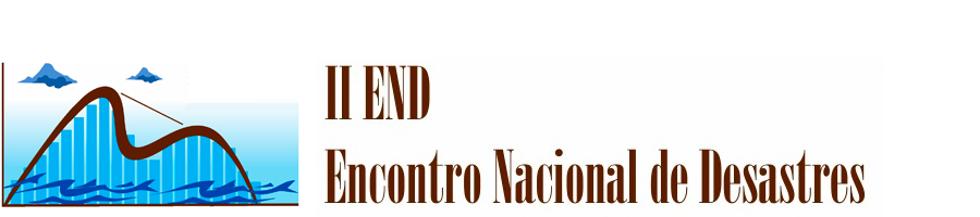 II END - Encontro Nacional de Desastres da ABRHidro